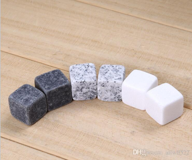2017 кухня гаджеты камень куб форма из нержавеющей стали виски кубики льда кулер камень вино пиво охлаждения лоток плесень льда плесень 6 частиц