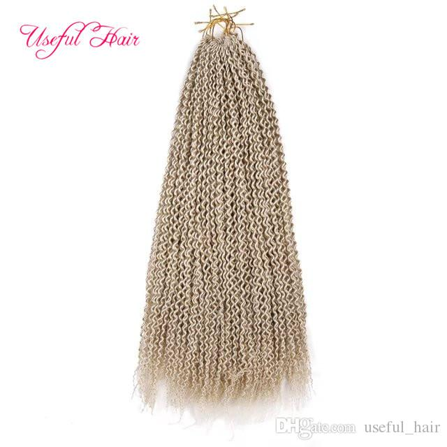 HIGH QUALITY 20INCH Island twist crochet hair extensions,synthetic braiding hair senegalese braid zizi bohemian braids JANET COLLACTION