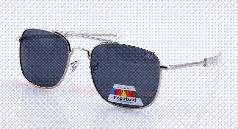 New Fashion AO Flyer MILITARY Men Metal Polarized American Optical  SUNGLASSES 57 52mm Oculos Gafas Lunettes With Box Reading Glasses  Prescription Sunglasses ... 60bbb0dbcb1