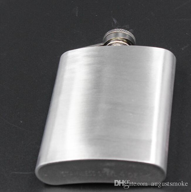 Hot vente Motif Fashion 4 onces en acier inoxydable Flasque Bouteille Portable