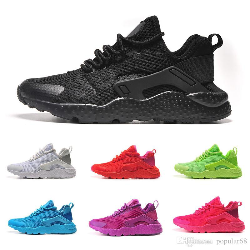 Best Drop Shipping Wholesale Running Shoes Men Women Air Huarache Ultra Net  Sneakers Boots Authentic 2016 Discount Sports Shoes Size 36 45 Under 8041