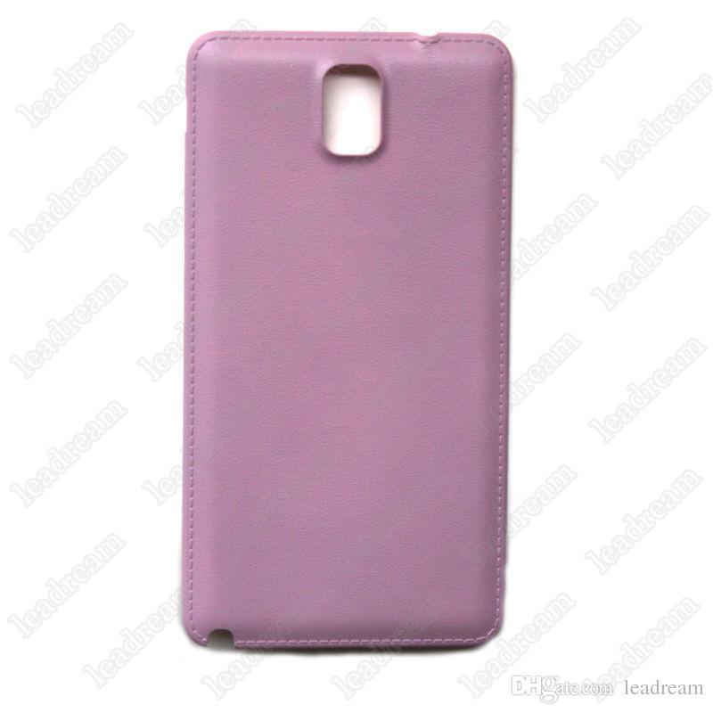 Couverture arrière du logement de la batterie arrière de remplacement de la porte arrière pour Samsung Galaxy Note 2 3 4 N7100 N9000 N9100 3 couleurs gros DHL gratuit