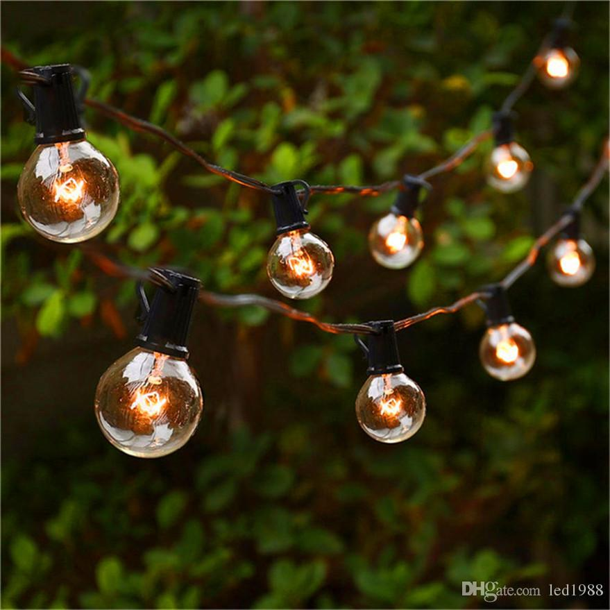 String Globe Lights Stunning String Lights With 60 G60 Globe Bulbs Ul Listed For IndoorOutdoor
