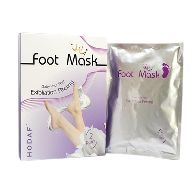 /Pack Foot Mask Skin Care Exfoliating Softening Scrub Foot Mask Socks Tendering Feet Care Sticker 1212002