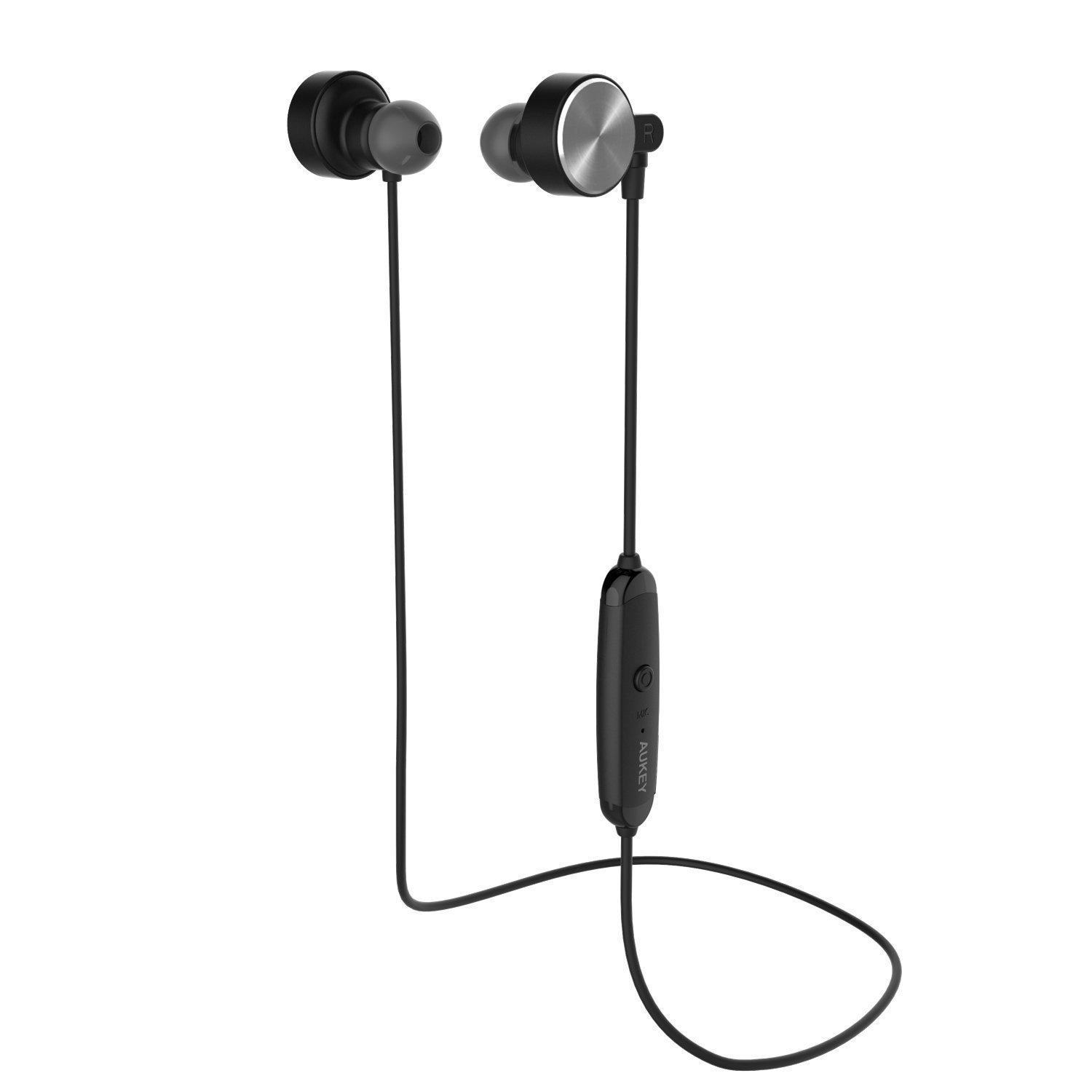 244ce2c09a3 Stock in Germany AUKEY Bluetooth 4.1 Magnetic Stereo Wireless in Ear Sports  Headphones with Mic for IPhone Android Phones Online with $9.48/Piece on ...