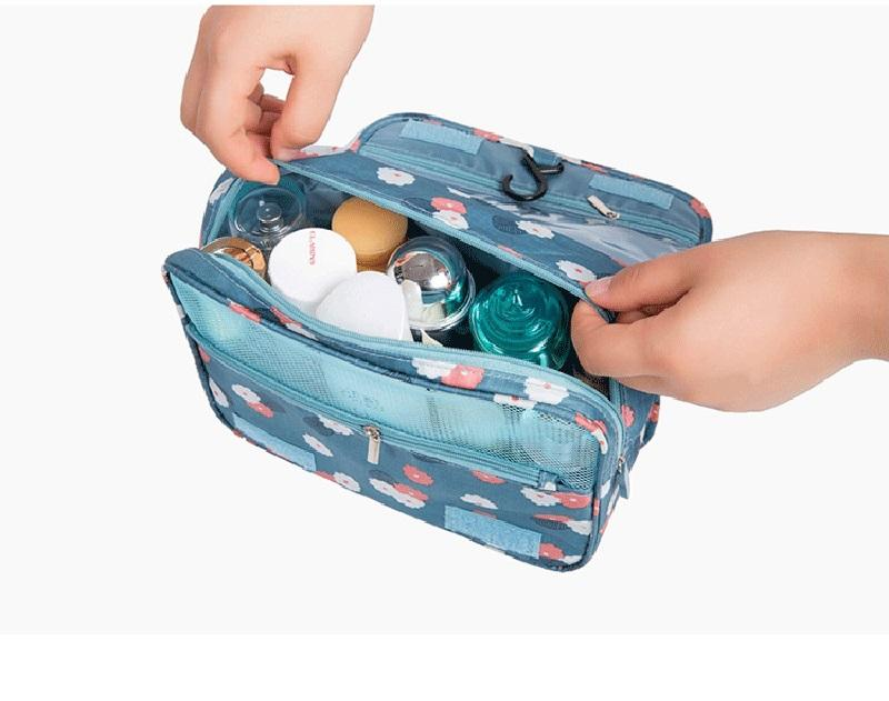 Toiletry Bag Multifunction Cosmetic Bag Portable Makeup Pouch Waterproof Travel Hanging Organizer Bag for Women Girls Storage Bags
