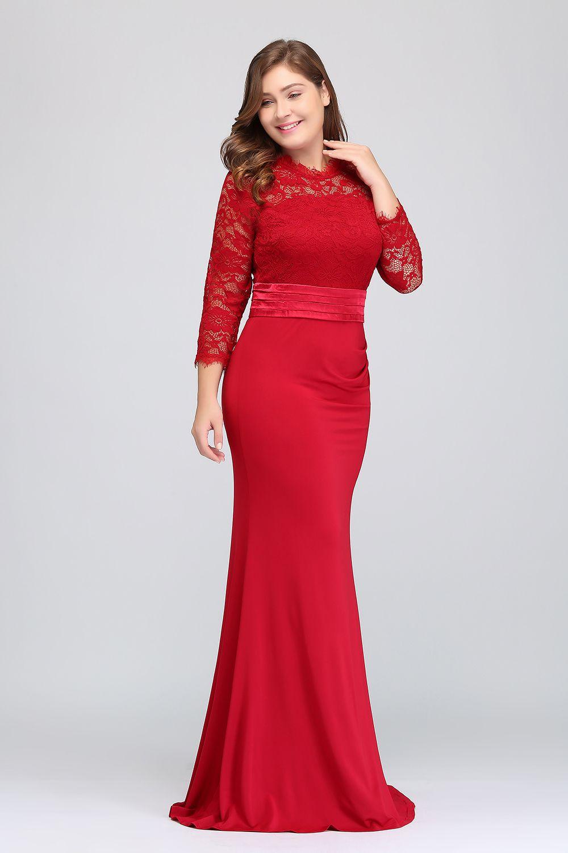Plus la taille 2018 Real Pictures pas cher robes de demoiselle d'honneur longue en mousseline de soie une ligne robes formelles robes de soirée Occasion Modest CPS613