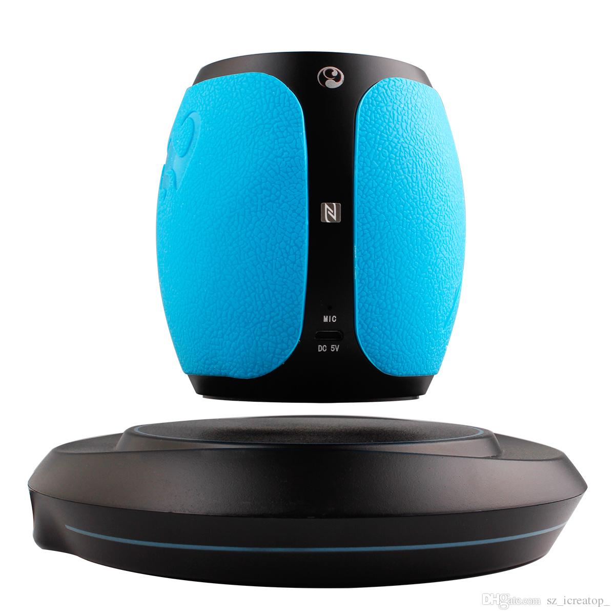 Wireless Bluetooth Levitation Floating Led Subwoofer Suspension ...