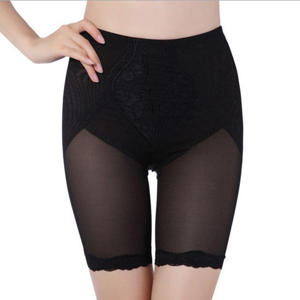 a9e8323d62 Wholesale- Fashion Women Slim Shapewear Short Leggings Waist Lace Tummy  Control Underwear Underwear Nurse Leggings Brand Leggings Sale Online with  ...