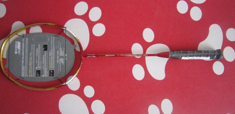 Badminton racquets racket n90ii 100% kolfiber 2 stycken / parti