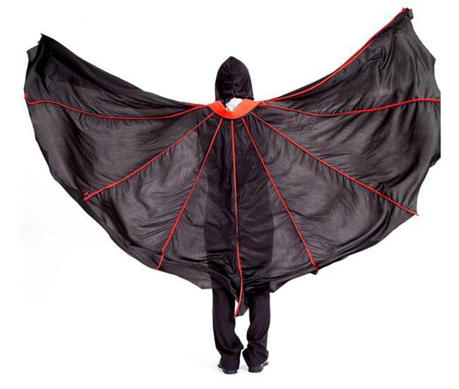 J-04 Death Cloak Cosplay Ghost Clothes Black vampire Cape Hooded Cloaks Halloween Costume For adult Ghost mask and cloak full set