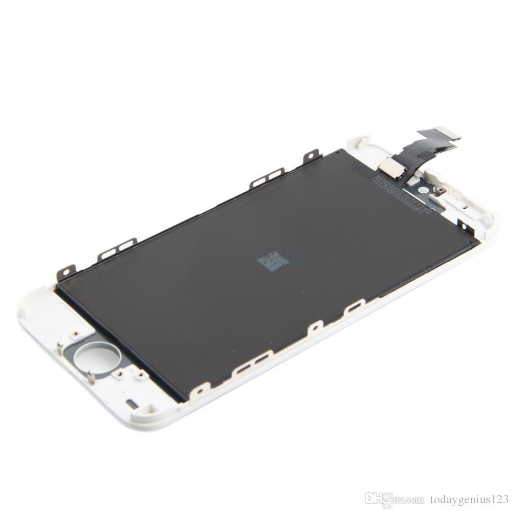 High quality White Replacement LCD Display Touch Screen Digitizer Glass Panel Assembly + Free Repair Tools For iPhone 5C