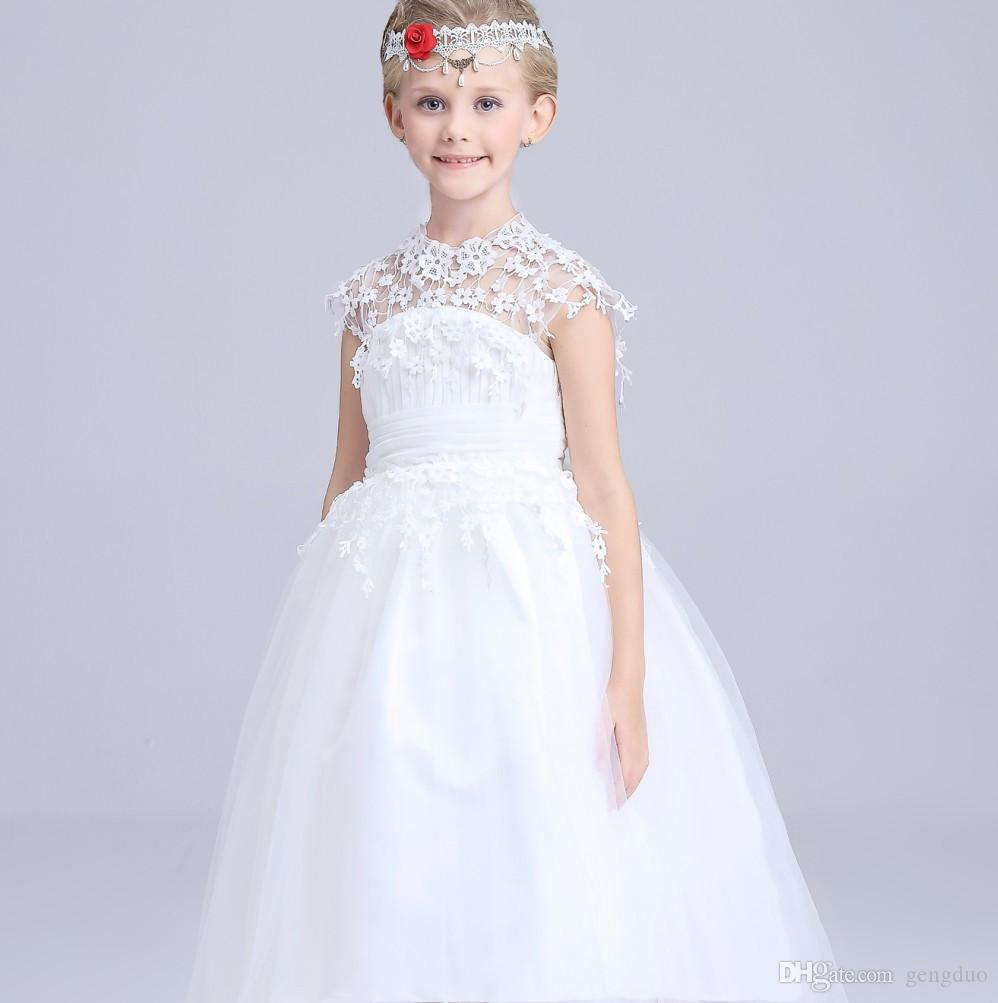 2017 2016 new flower girl pageant dress infant girls outfits kids 2017 2016 new flower girl pageant dress infant girls outfits kids children lace wedding party dresses girl clothes child bridesmaid clothing from gengduo ombrellifo Image collections