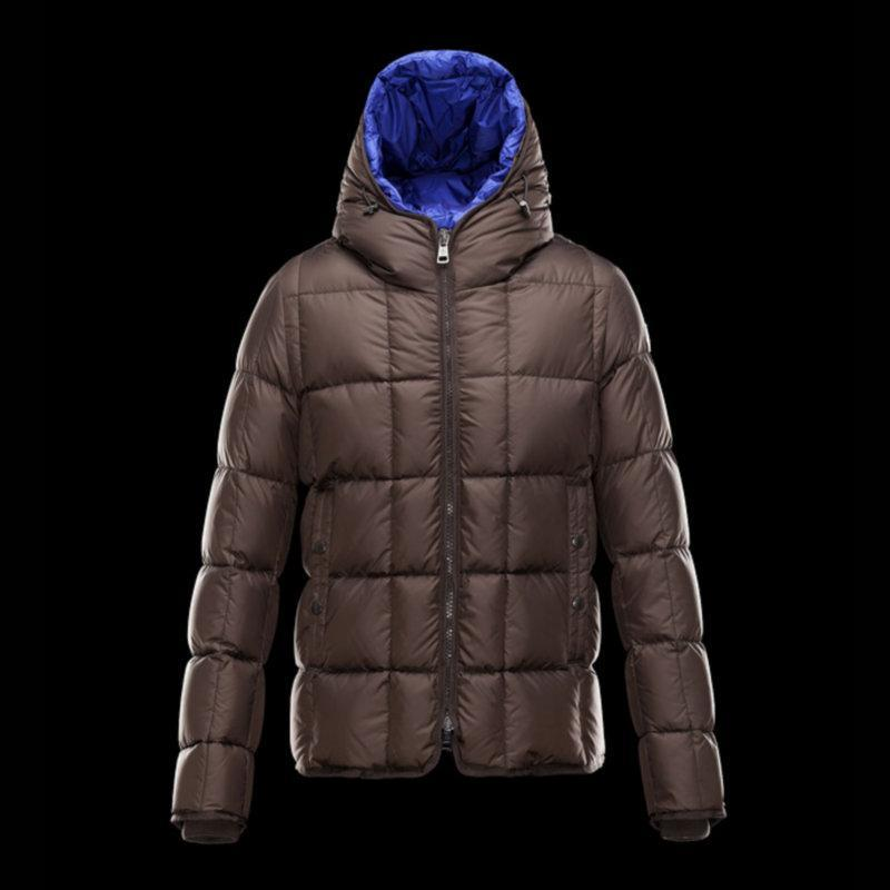 2018 2017 New Winter Jackets Mens Brown Hood Young Men Leisure ...