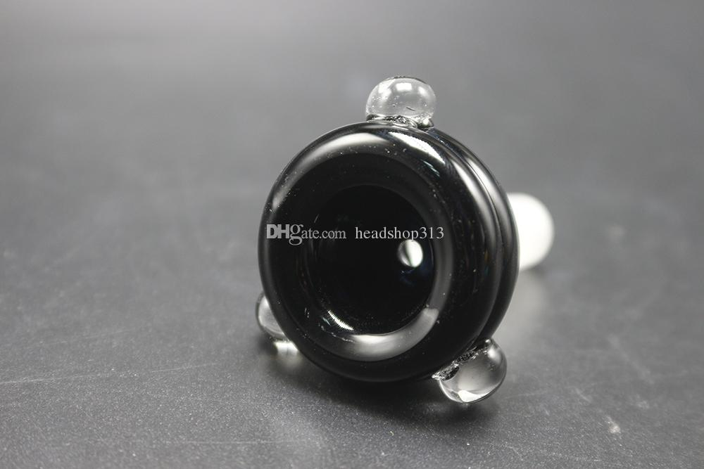 DHL FREE Glass bowl 14mm 18mm Male Joint Glass bowls For Tobacco Pipe Bowl large capacity smoking Pipe