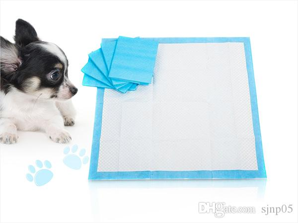 Hot Sale Absorbent Pet Diapers Dog Cat Indoor Toilet Training Pads 45X60CM Quicker Dry Antibacterial Pet Pads Healthy Clean Puppy
