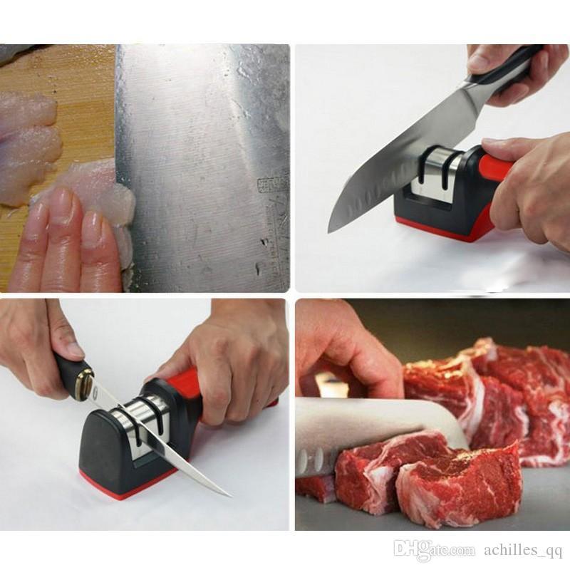 achilles_qq Yeni İki Aşamaları Elmas Seramik Mutfak Bıçak Bileme Bileme Taş Ev Kalemtıraş Mutfak Bıçakları Araçları Bıçaklar Araçları
