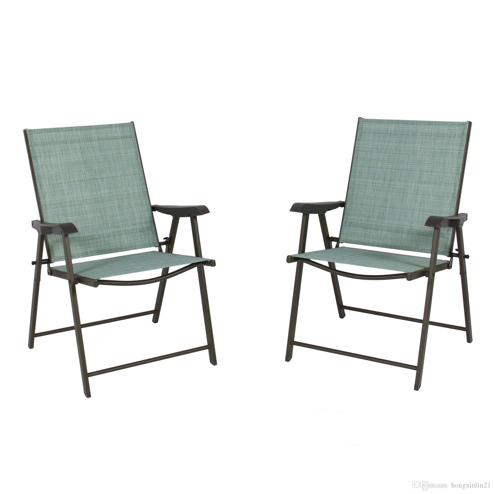 space saving patio furniture. Of 2 Folding Chairs Sling Bistro Set Outdoor Patio Furniture Space Saving From Hongxinlin21, $55.28 | Dhgate.Com