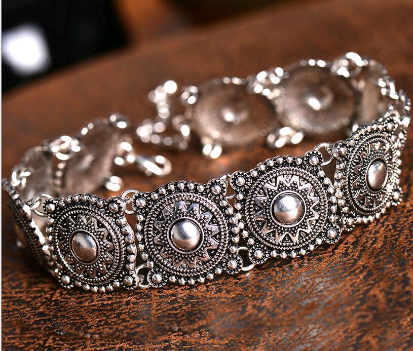 Heißer verkauf Europäischen Design Drehmomente Modeschmuck Böhmischen Choker stil Kragen Halsketten Shop China Großhändler 36 stücke