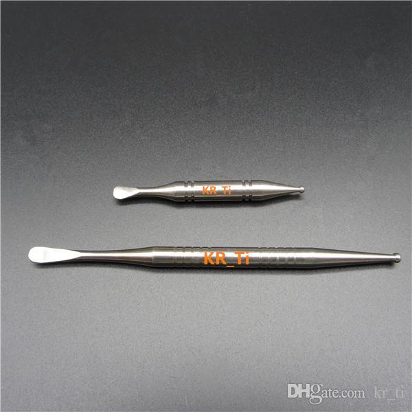 뜨거운 GR2 티타늄 dabber 티타늄 네일 여성 및 남성 티타늄 domeless 못 카브 캡 모든 손톱에 대 한 광범위 한 스펙트럼 판매