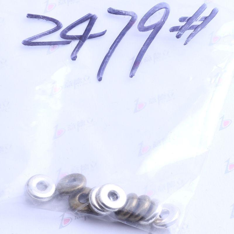 Flocon de neige spacer charme antique argent / bronze en alliage de zinc pour pendentif bricolage fabrication de bijoux accessoires 2479