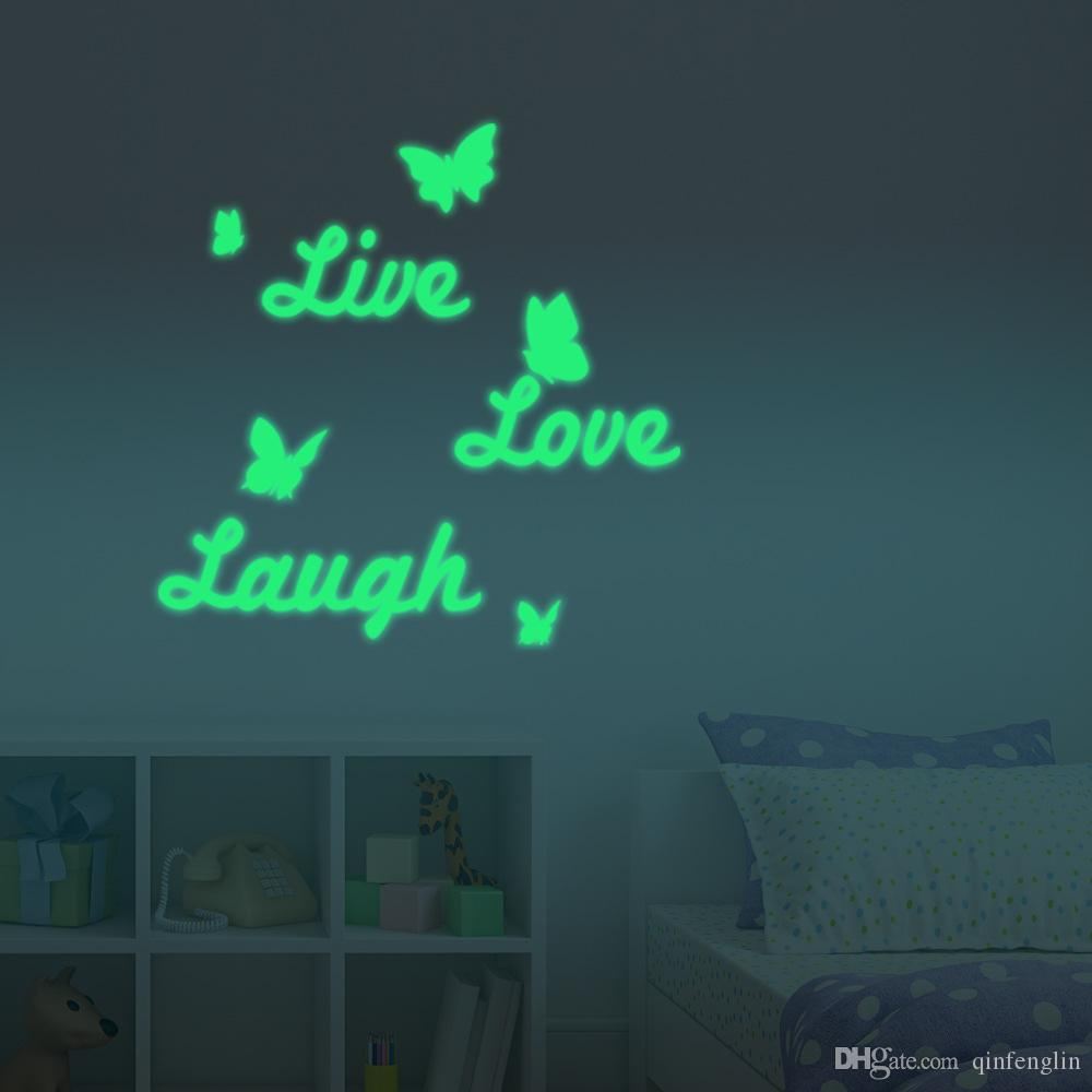 Live Well Laugh ten Love Much Motivational Life Quote Wall Sticker Diy Inspirational Life Quotes Vinyl Wall Art Decal Wall Motifs Wall Mural Decal From