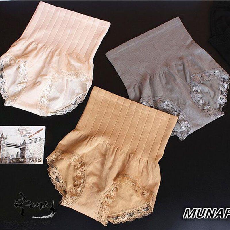 0047d27cf44df 2019 Hot Sale Munafie High Waist Women S Panties Beauty Care Control Body  Slimming Belly In