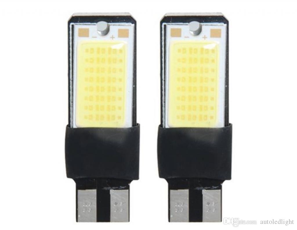 10w COB Best Ridiculously Bright T10 194 168 W5W NO ERROR High Power LED Light Bulbs Auto Replacement Lighting