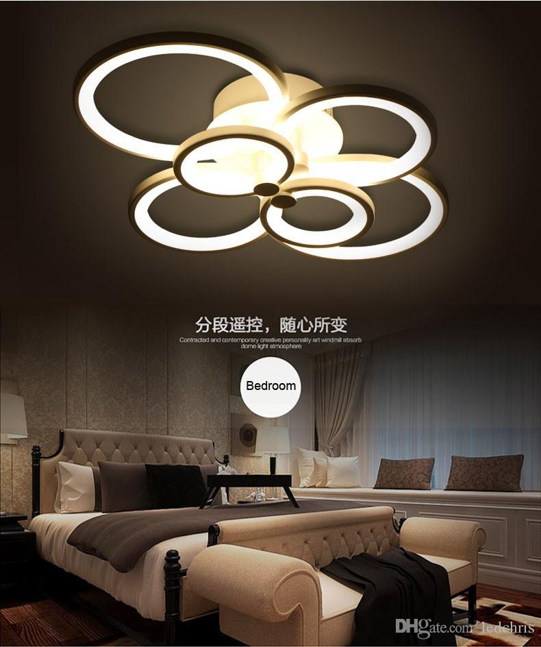 2016 new design remote control living room bedroom modern led ceiling lights luminarias para sala dimming led ceiling lamp flush mount ceiling light surface - Living Room Led Ceiling Lights