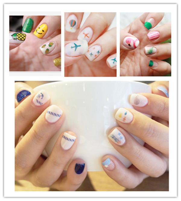 Best Selling Small Fresh Cartoon Nails, Letters Nail Stickers ...