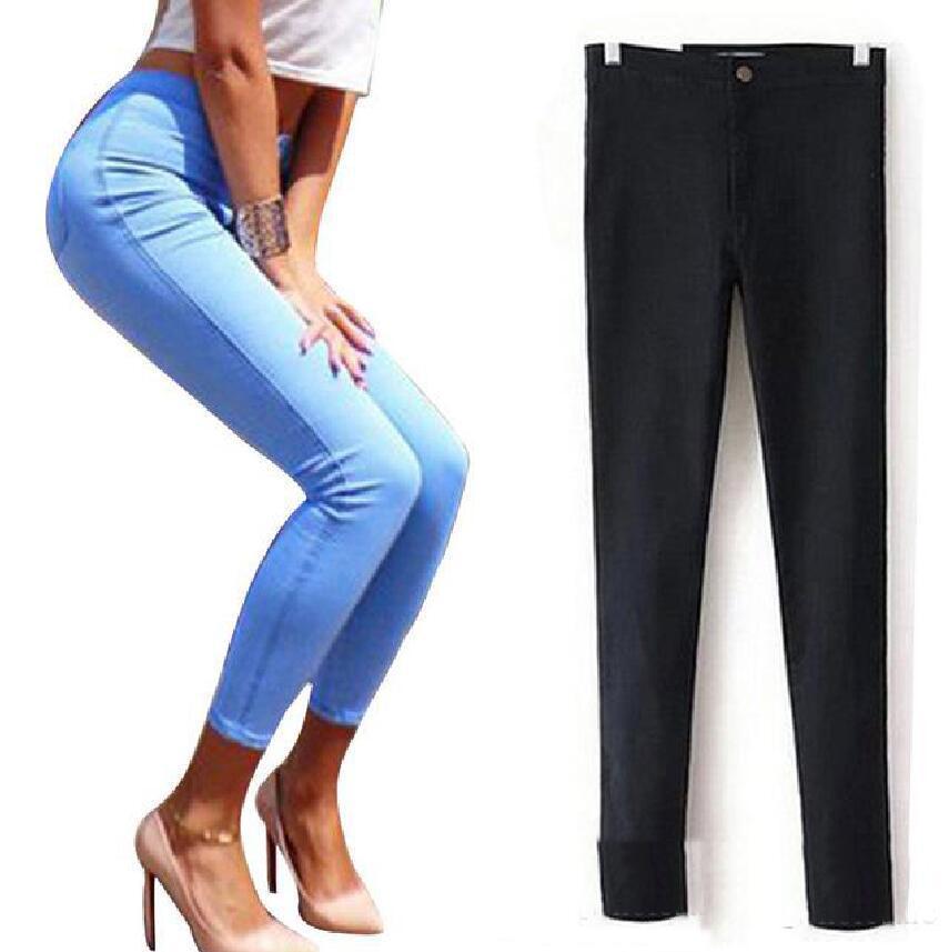 2018 skinny jeans woman 2017 denim jeans for women black. Black Bedroom Furniture Sets. Home Design Ideas