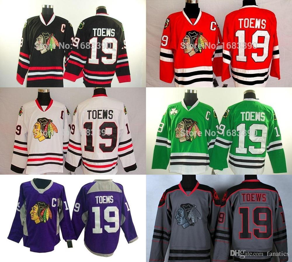 491f5c7e3 2019 2016 Cheap Men'S Chicago Blackhawks Jerseys #19 Jonathan Toews Jersey  Authentic Hockey Jerseys Red/Grey/Green Jerseys Top Quality Hot Sale From  ...