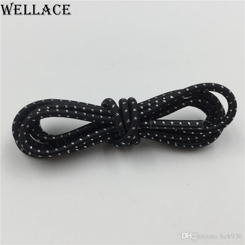 Wellace elastic laces for kids shoes no tie shoelaces Rubber Shoe strings latchet Running/Jogging/Sports Skate bootlaces 120cm/47''