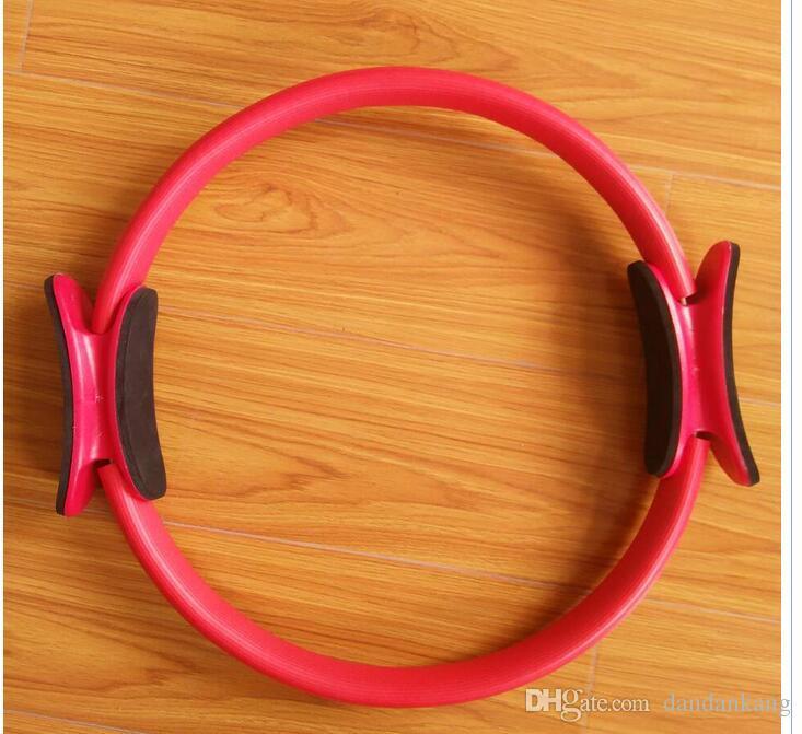 Nova senhora Yoga círculos mágicos de fitness emagrecimento ioga mulheres Pilatos Tipo Pilates anel exercer círculos ioga transporte livre