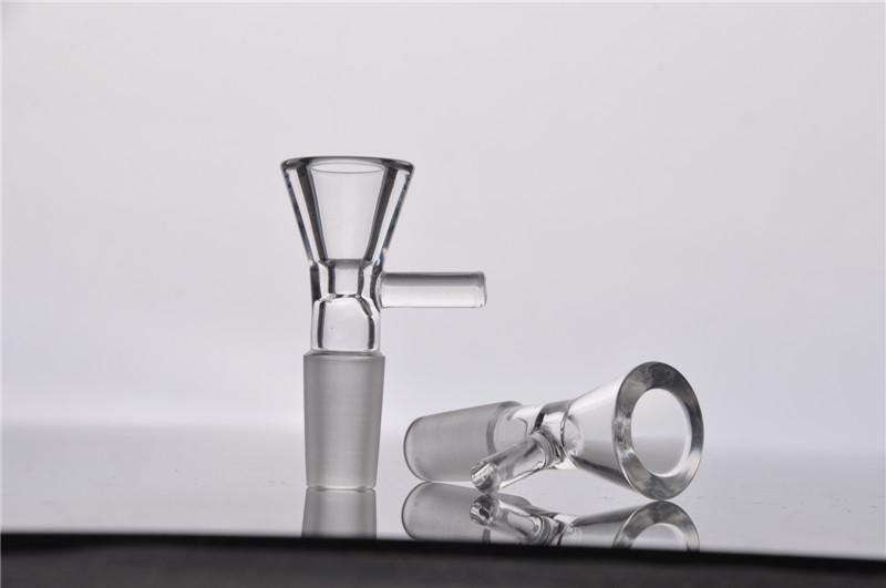 CHEAP! BUBBER BOWL 14mm 18mm Recipiente de vidrio para hombre pieza de miel para vidrio bubber pipa de agua bong bowls accessary