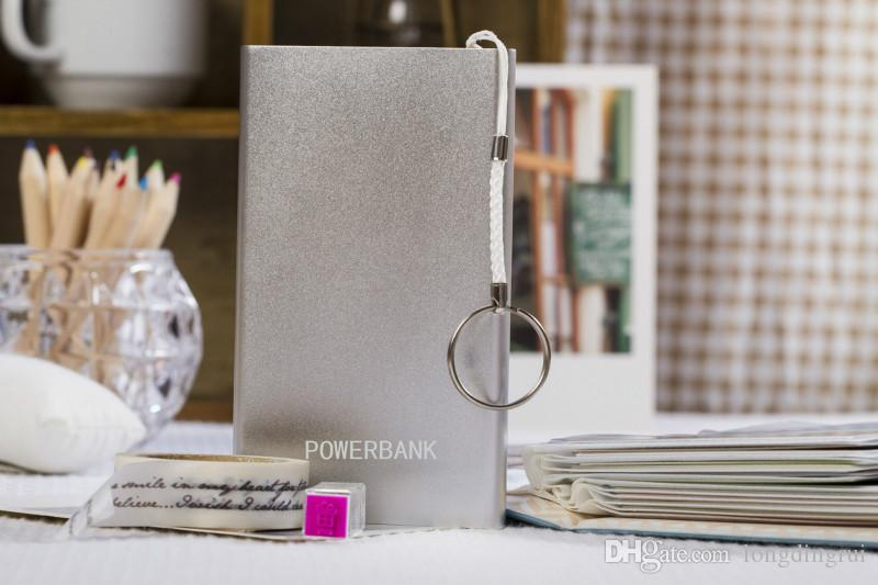 2016 China Nueva Aleación de aluminio ultrafina 4400MAH colorido Banco de potencia Venta al por mayor barato de China Mobile Bank Bank Factory