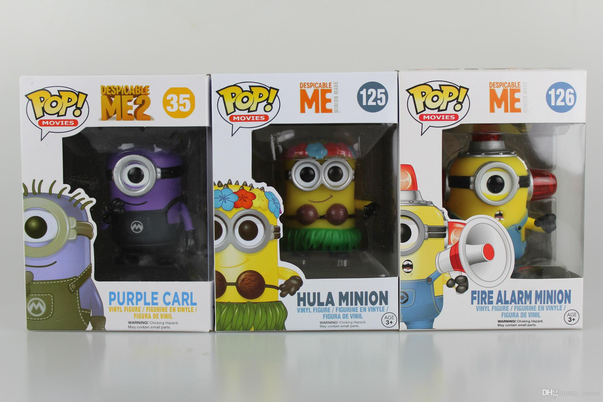 2019 New Hot Sale Anime Figure Pvc Toys Despicable Me Minions Purple