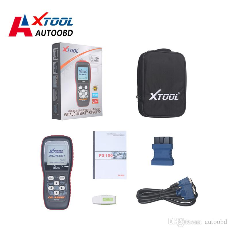 Xtool PS150 OIL RESET/Oil Inspection/Service Mileage/Service  Intervals/Airbag On Asian American European Car 2016 New Original