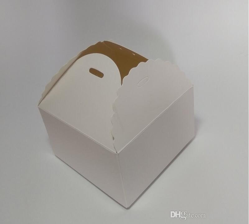 Оптовая Крафт-Бумага Торт Коробка, Макарон Подарок Пекарня Печенье Пользу Кекс Шоколад Упаковка Коробка Рождество Свадьба