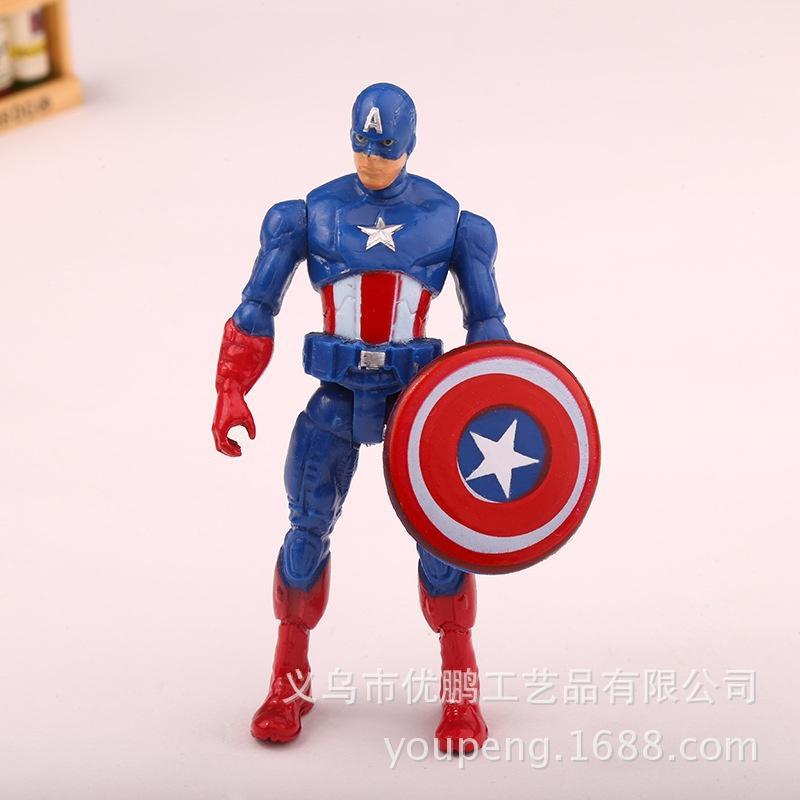 Avengers superhero Captain America toy giant Superman Batman Thor and iron man movable model toys dolls ornaments
