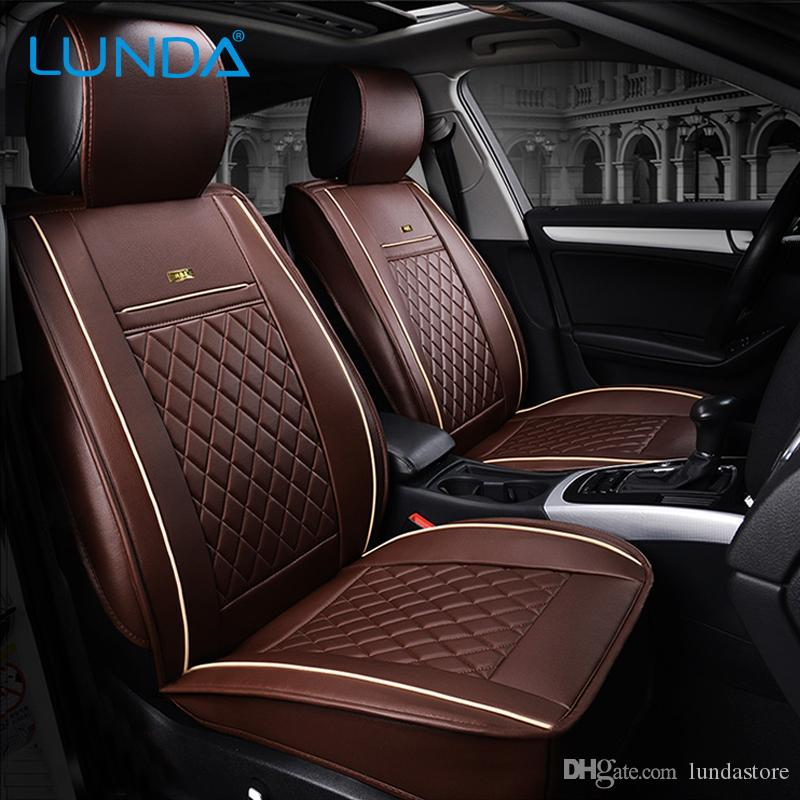 Front Rear Luxury Leather Car Seat Cover For Ford Mondeo Focus