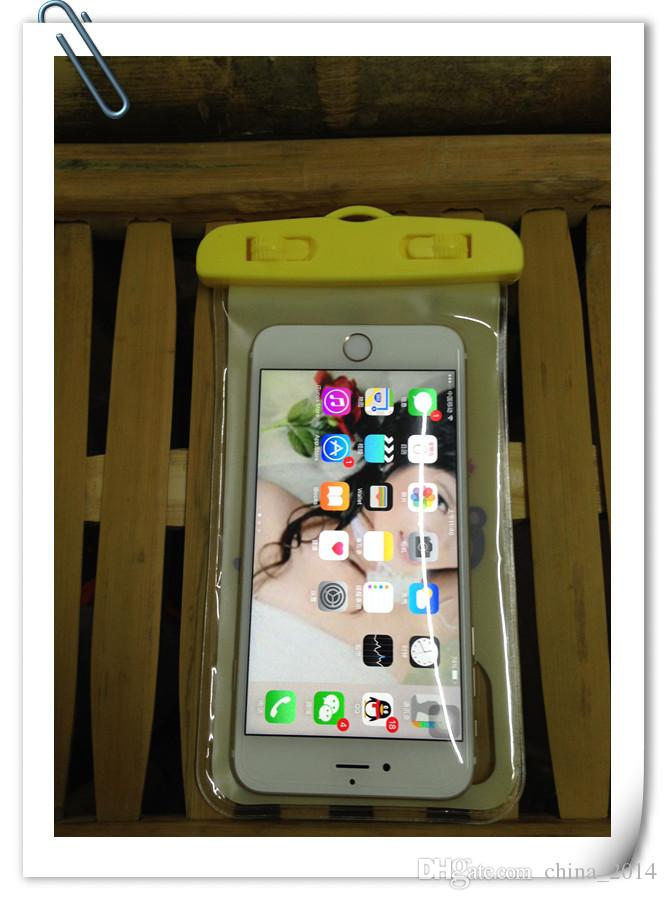 Clear Waterproof Pouch Bag Dry Case Cover Universal For iphone samsung HTC and more DHL