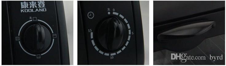 8L infrarrojos calentador eléctrico de mini hogar eléctrico Horno 220V   700W 15 minutos de tiempo de dos tubos de cuarzo 011