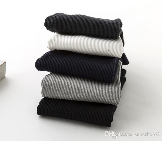 Mais novo mulheres adolescentes menina skinny slim calças listras leggings calças primavera outono inverno algodão estiramento lápis pant Capris favores de Natal