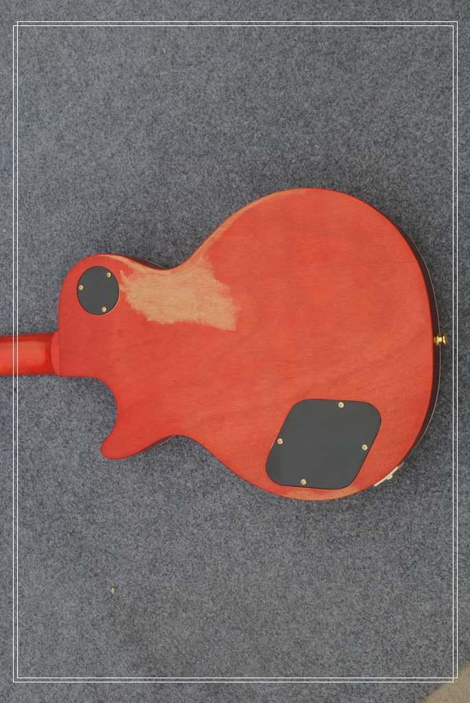 Custom Shop 1959 Led Zeppelin Jimmy Página # 7 Tom Murphy Envelhecido e Assinado Guitarra Elétrica Frete Grátis