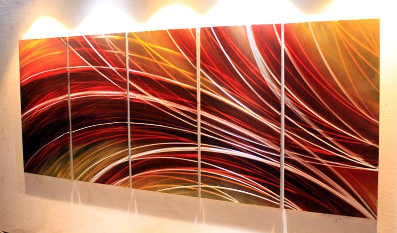 Oil Painting Wall Metal Wall Art Original Abstract Painting Comprehensive Material Metal Wall Art Home Decor Metal Sculpture Wall Art