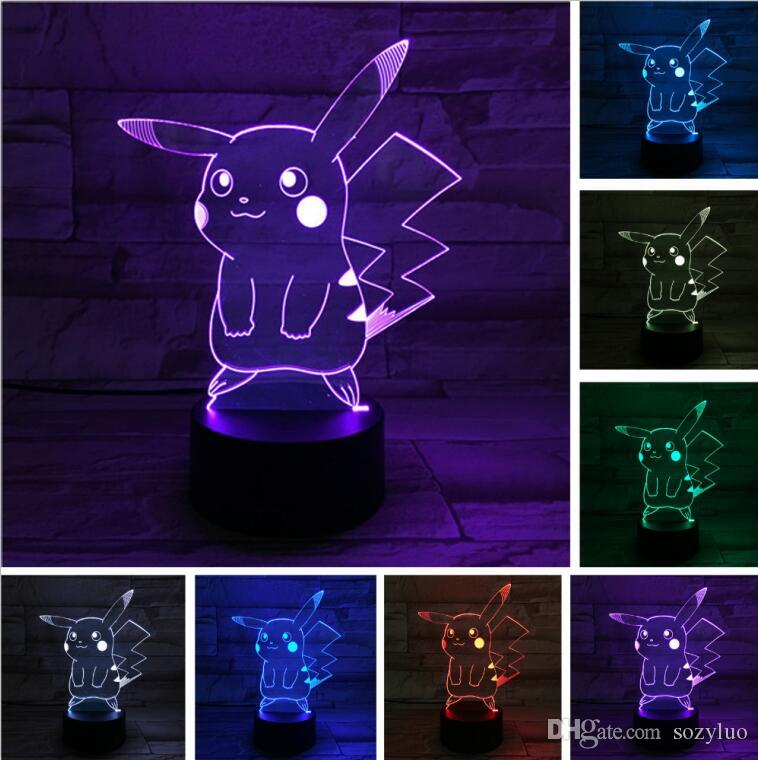 Led Lamps Official Website Animation 3d Night Lamp Colorful Touch Led Visual Deco Desk Lamps Atmosphere Seven Dragon Ball 3d Table Lamp More Discounts Surprises