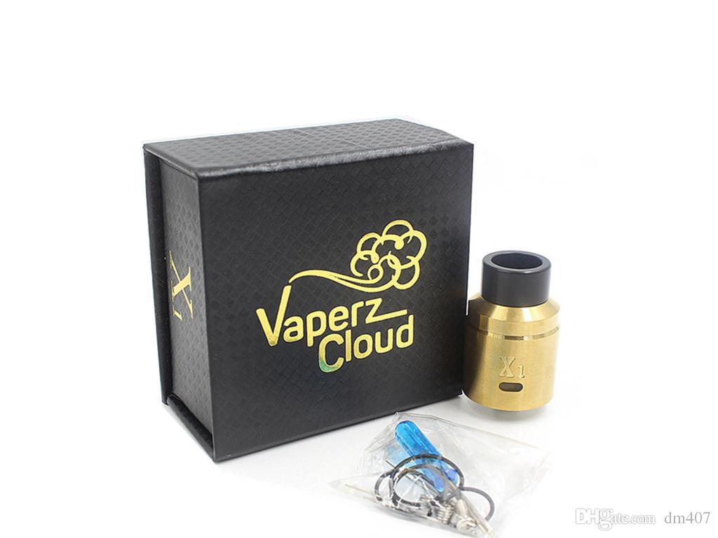 In stock Vaperz Cloud X1 rda multi colors suitable with timekeeper v2 mod AV able mech mod same day shipping