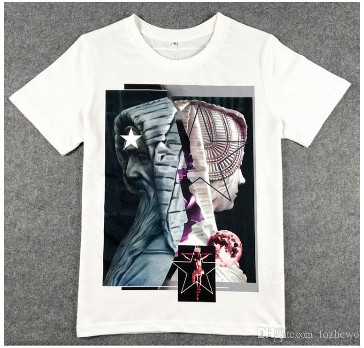 fce1b114041 Women Church Character Printed T-shirt Men Brand Clothing Fashion ...
