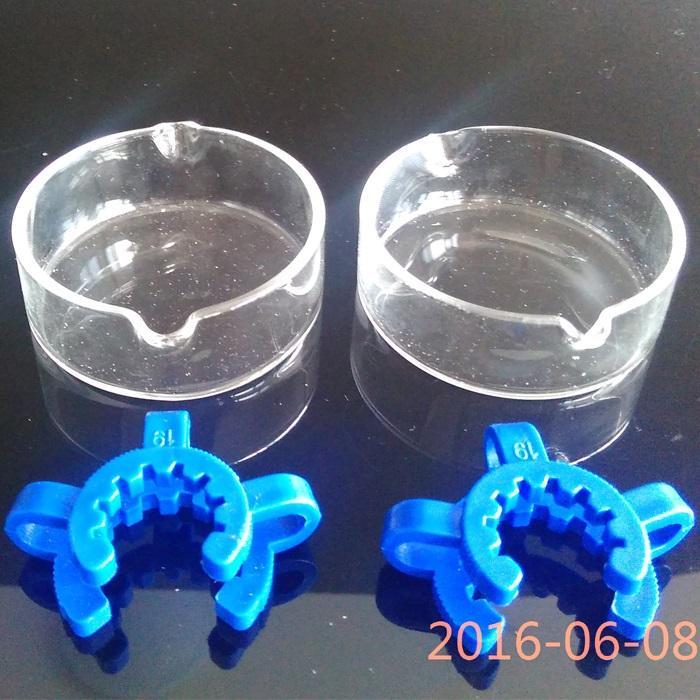 Venda Por Atacado 14 18 original coletor 2.0 kit 1.0 grampo de prato de vidro 18.8mm 14.4mm para bongos de vidro